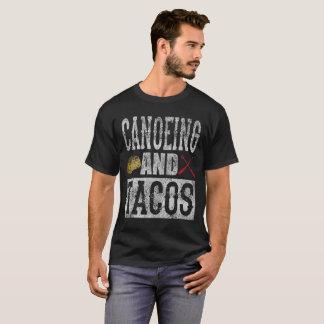 Canoeing und Tacoslustiger Taco beunruhigt T-Shirt