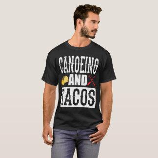 Canoeing und Tacoslustiger Taco T-Shirt