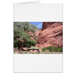 Canyon de Chelly, Arizona, Südwesten USA 5 Karte