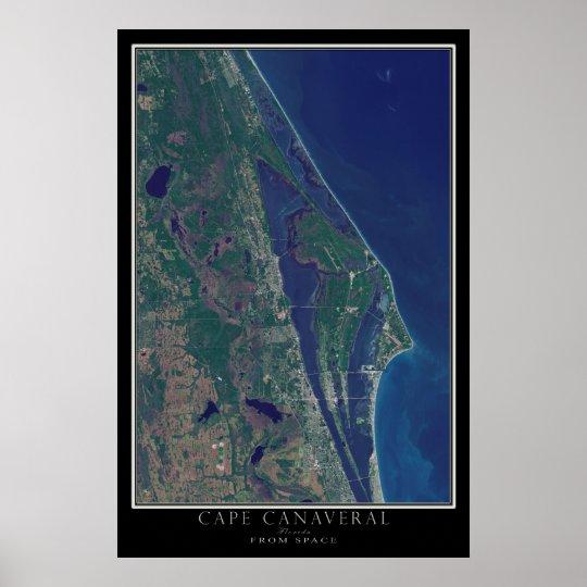 Cape Canaveral Florida von der Poster