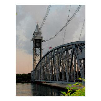 Cape Cod-Kanal-Brücken-Postkarte Postkarte
