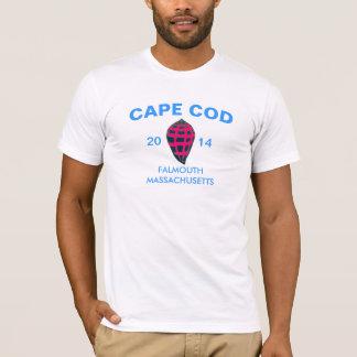 Cape Cod-Salz-Sumpf-Schnecke Falmouth 2014 T-Shirt