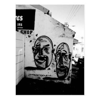 Cape Town: Zwei viele Gesichter Postkarte