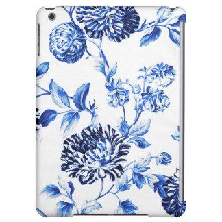 Capri blaue Foral Toile Blume