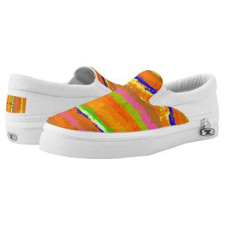 Capri Striped UnisexSlipper Slip-On Sneaker