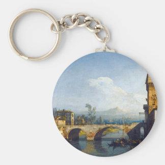 Capriccio Padovano durch Bernardo Bellotto Schlüsselanhänger