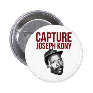 Capture Kony - T-shirts, cas, chapeaux et boutons Pin's Avec Agrafe