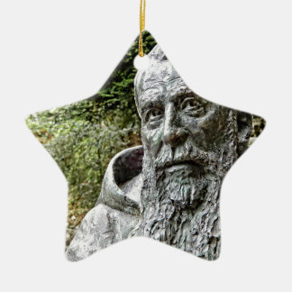 Capucin Mönch Keramik Ornament