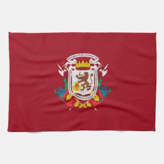 Caracas-Stadtflaggen-Venezuela-Symbol Küchenhandtuch