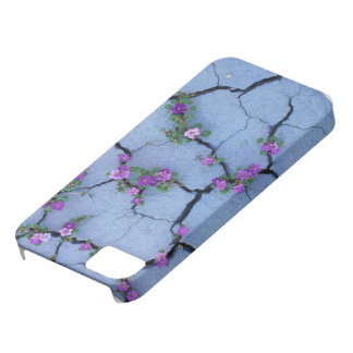 Caracks pourpres de fleur de cas d'Iphone 5/5S Coques Case-Mate iPhone 5