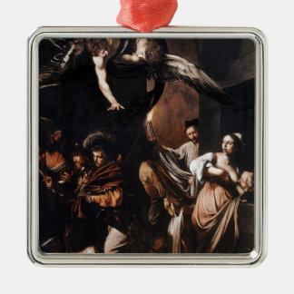 Caravaggio - die sieben Arbeiten der Silbernes Ornament