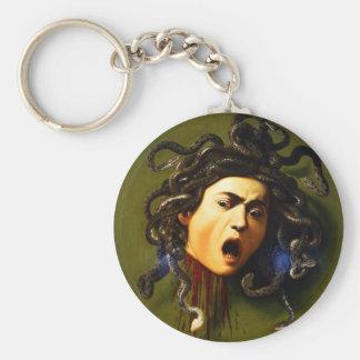 Caravaggio Medusa-Schlüsselkette Schlüsselanhänger