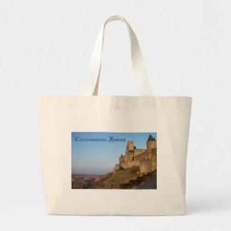 Carcassonne, Frankreich Jumbo Stoffbeutel