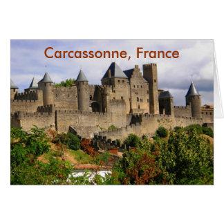 Carcassonne, Frankreich Karte