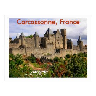 Carcassonne, Frankreich Postkarte