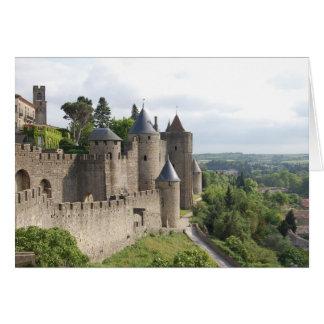 Carcassonne-Schloss, La zitieren Karte