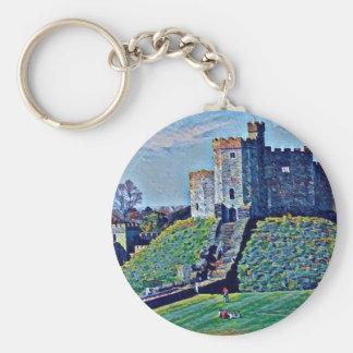 Cardiff-Schloss Schlüsselanhänger