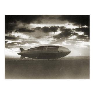 Cardington, Luftschiff R101 Postkarte