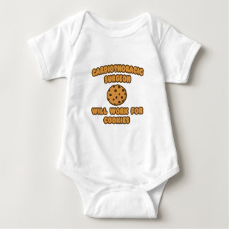 Cardiothoracic Chirurg. Arbeitet für Plätzchen Baby Strampler