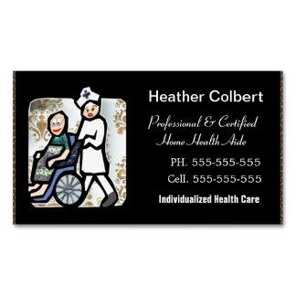 Caregiver beruflich visitenkartenmagnet