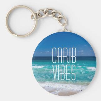 Carib-Schwingungens-tropisches Schlüsselanhänger