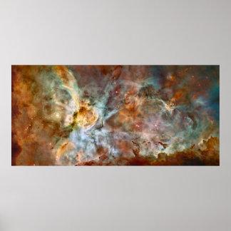 Carina-Nebelfleck - NGC 3372 Poster