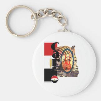 Cario Ägypten Standard Runder Schlüsselanhänger