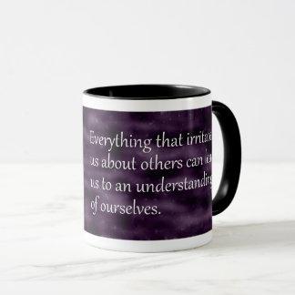 Carl Jung, der Zitat sich versteht Tasse