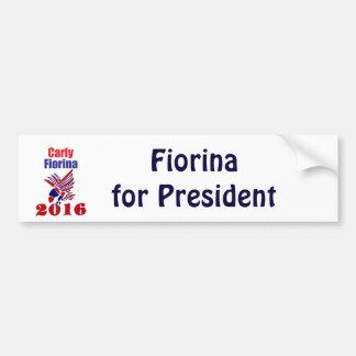 Carly Fiorina für Präsidenten Political Design Autoaufkleber
