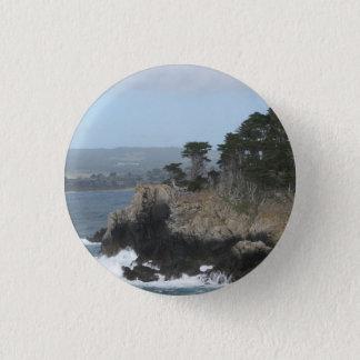 Carmel, Kalifornien Runder Button 3,2 Cm