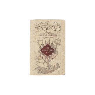 Carnet Moleskine De Poche La carte du maraudeur du charme | de Harry Potter