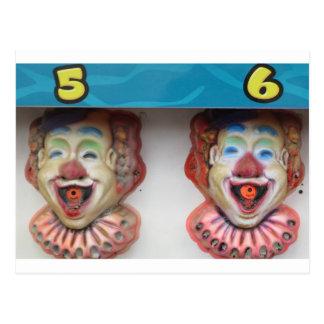 Carney Clowns Postkarte