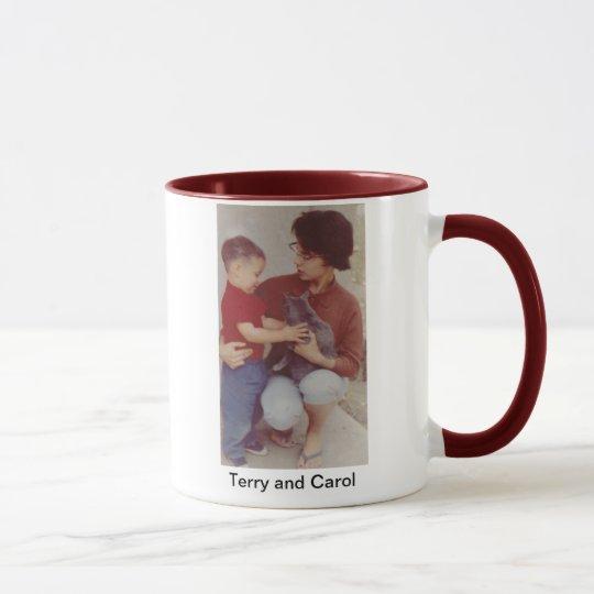 Carol- und Terry-Tasse Tasse