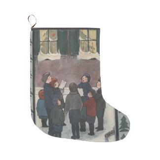 Carolers Großer Weihnachtsstrumpf