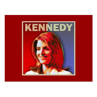 Caroline Kennedy für US-Senat Postkarte