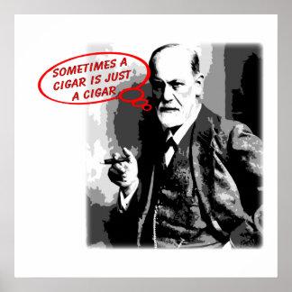Carré de citation de cigare de Sigmund Freud