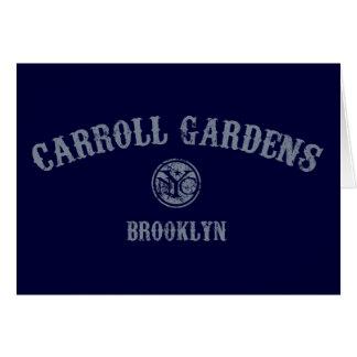Carroll-Gärten Karte