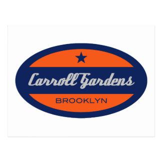 Carroll-Gärten Postkarte