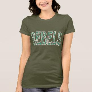 Carroll-Hochschulrebellen Carrollton Mississippi T-Shirt