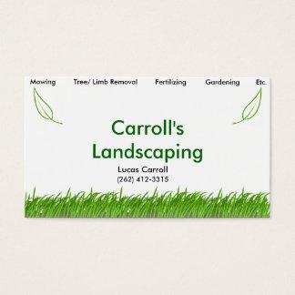 Carrolls Landschaftsgestaltung Visitenkarte