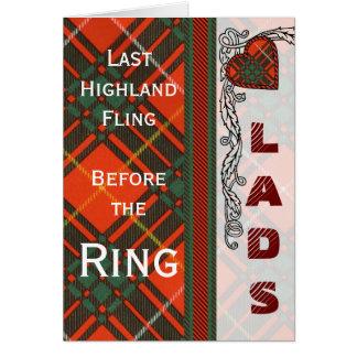 Carruthers Clan karierter schottischer Kilt Tartan Karte