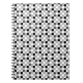 Carta/Foto-Notizbuch (80 Seiten B&W) Spiral Notizblock