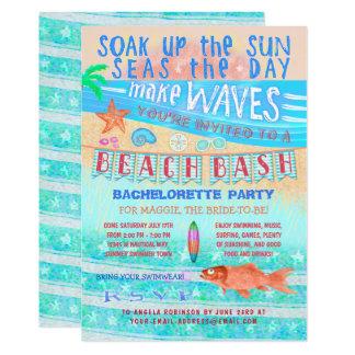 Carte Amusement de bain de surf de poissons de