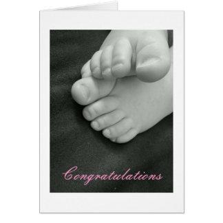 Carte Bébé - félicitations