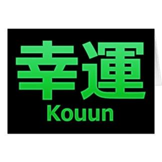 Carte Bonne chance (Kouun)