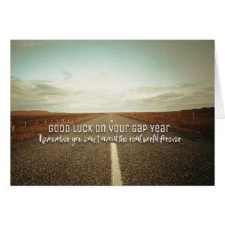 Carte Bonne chance votre année de Gap