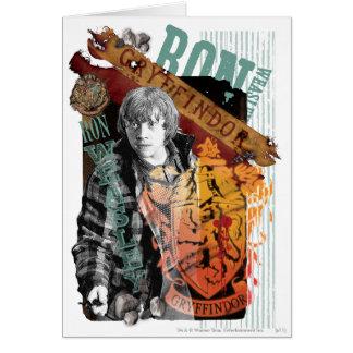 Carte Collage 1 de Ron Weasley