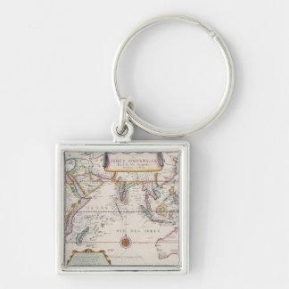 Carte d Asie du Sud-Est Porte-clef