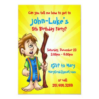 carte d'anniversaire customisée pour le garçon carton d'invitation 8,89 cm x 12,70 cm