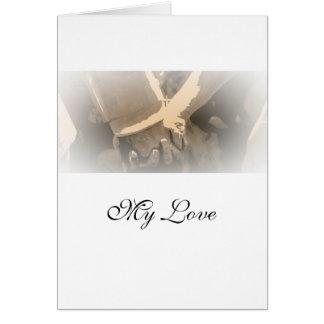 """Carte d'anniversaire de mariage de """"mariage"""" (10:6"""